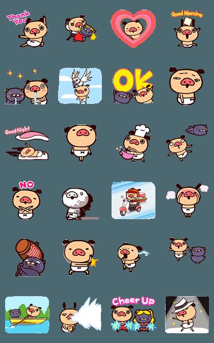20170109 free line stickers(8)