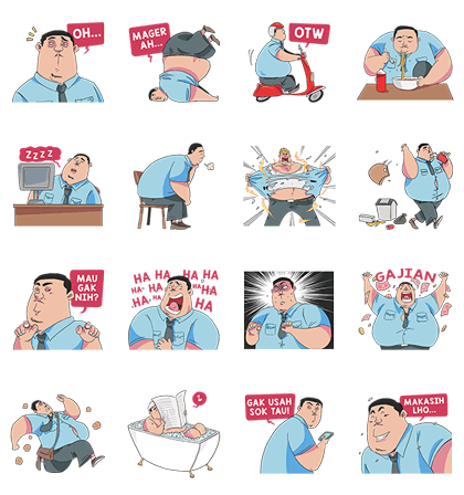 20170110 free line stickers (1)