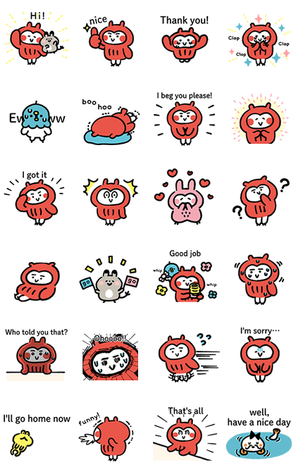 20170116 free line stickers (7)