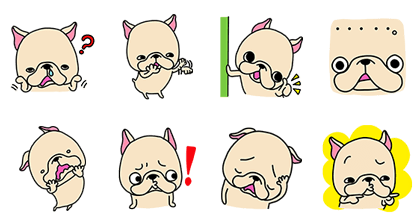 20170118 free line stickers