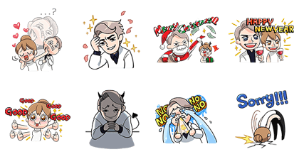 20170124 FREE LINE STICKERS (12)