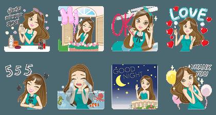 20170124 FREE LINE STICKERS (3)