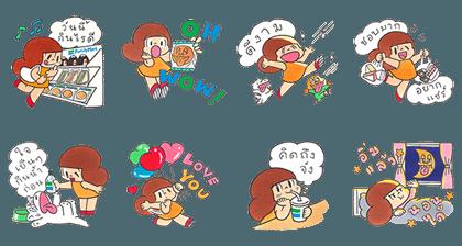Free LINE Sticker (12)