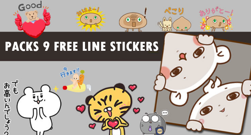 20180227 FREE LINE STICKERS (1)