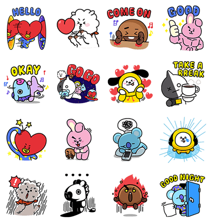 20180402 FREE LINE STICKERS (2)